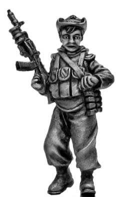 Mechanised infantry in boonie hat with AK74 and underslung grenade launcher (28mm)