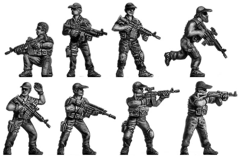 Private Military Contractors (28mm)