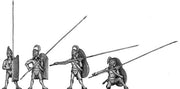 Mycenaean pikeman (28mm)