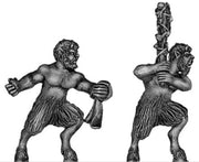 Satyrs with hand weapons (28mm)