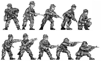 Rifle section - action poses (28mm)