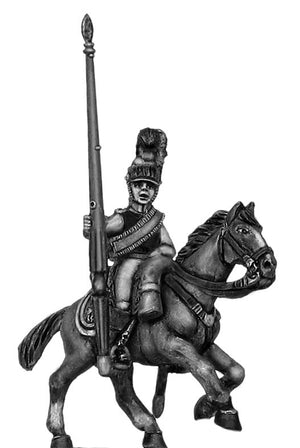 1812 Kürrassier-Regiment von Zastrow standard bearer (28mm)