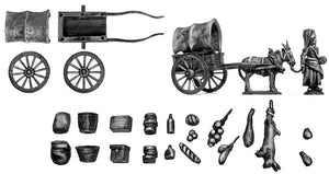 La Cantiniere and provision cart (28mm)