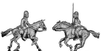 Pathlagonian cavalry, wicker helmet, spear/javelin (28mm)