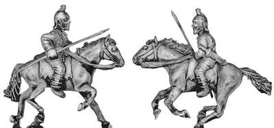 Pathlagonian cavalry, felt cap, spear/javelin (28mm)