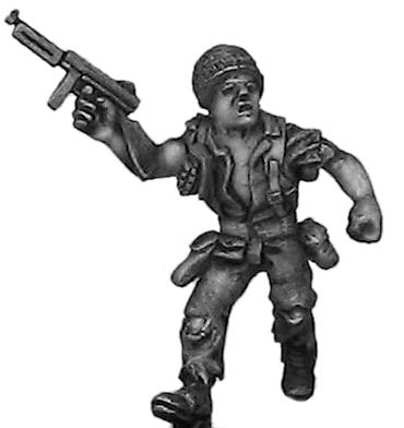 Sergeant Steel 1 (28mm)