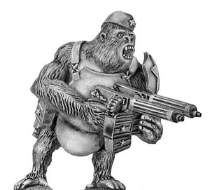 Soviet Gorilla with twin HMGs, side cap and body armour (28mm)