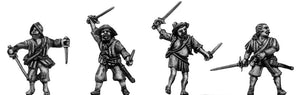 Sword and dagger man (28mm)