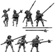 Pike/polearm infantry (28mm)