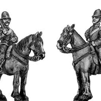 Victorian Mounted Police at rest (28mm)