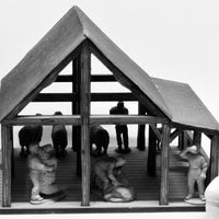 Shearing Shed set (28mm)