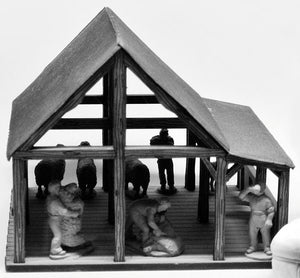 Shearing Shed (28mm)