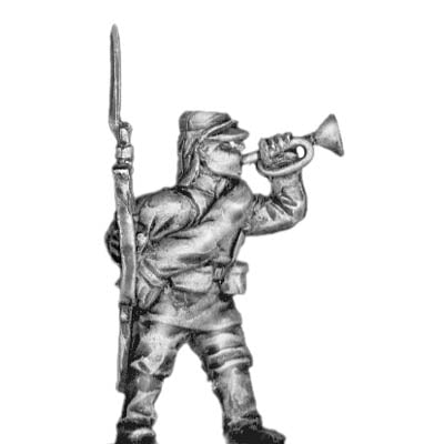 Russian bugler (28mm)