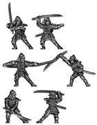 Samurai warrior with sword (28mm)