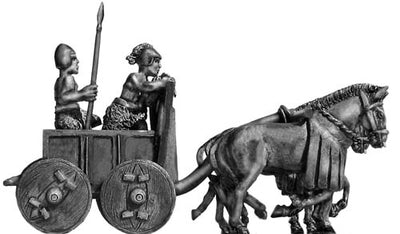 Sumerian Four Ass Battle Car (28mm)