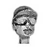 SWAT Head Baseball cap and goggles (28mm)