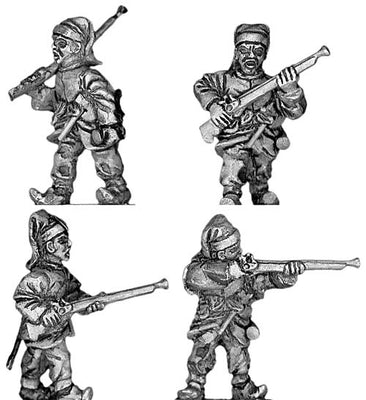 Janissary Infantry, with musket (28mm)
