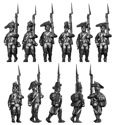 French Fusilier,regulation (28mm)
