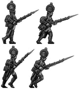 Fusilier, casque, regulation uniform, advancing (28mm)