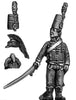 Horse Artillery officer hussar jacket (28mm)