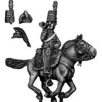 Mounted Horse Artillery trumpeter chasseur coat (28mm)