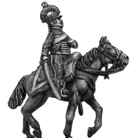 Chasseur à Cheval Officer short caracot jacket in helmet (28mm)