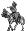Chasseur à Cheval Trumpeter tailed surtout coat in helmet (28mm)