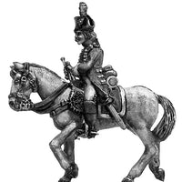 Heavy cavalry trumpeter at rest (28mm)