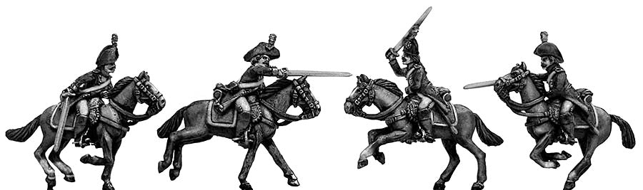 Heavy cavalry charging (28mm)