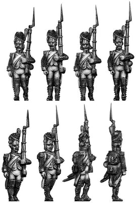 French Grenadier, bearskin regulation (28mm)