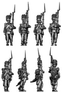 French Grenadier, bearskin ragged (28mm)