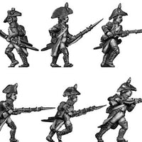 Grenadier, bircorne, regulation uniform, advancing (28mm)