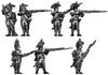 Grenadier, bicorne, regulation uniform, firing & loading (28mm)