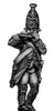 Russian Grenadier fifer, coat with lapels and collar, marching (28mm)