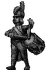 Drummer, casque, regulation uniform, marching (28mm)