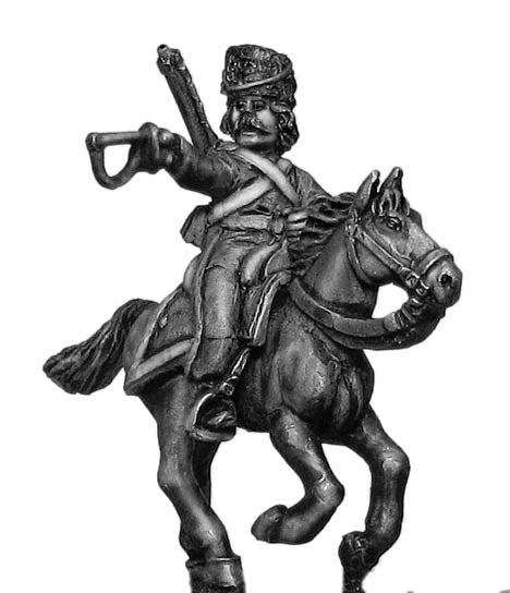 Don Cossack, officer (28mm)
