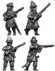 Ural Cossacks, dismounted, skirmishing (28mm)