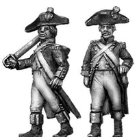 French Officer, bicorne, regulation (28mm)
