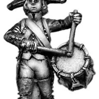 French drummer Bicorne, regulation uniform (28mm)