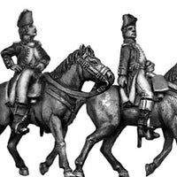 French officer Mounted (28mm)