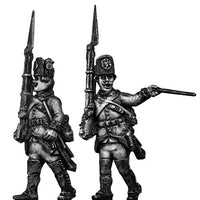Austrian Fusilier NCO, marching, casquet (28mm)