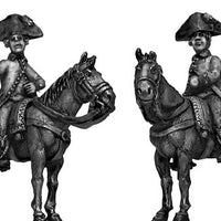 Austrian officer, mounted (28mm)