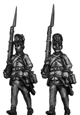 Hungarian Fusilier NCO, marching, casquet (28mm)