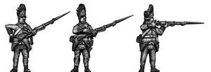 Hungarian Grenadier, firing and loading, bearskin (28mm)
