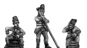 Artillery Handlanger, in Hungarian infantry uniform (28mm)