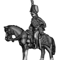 Hussar officer at rest (28mm)