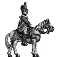 Hussar trumpeter at rest (28mm)
