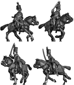 Hussar charging (28mm)