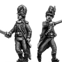French Light Infantry skirmishing deal Early green uniform (28mm)