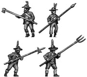 Tyrolean with pole arm round hat (28mm)